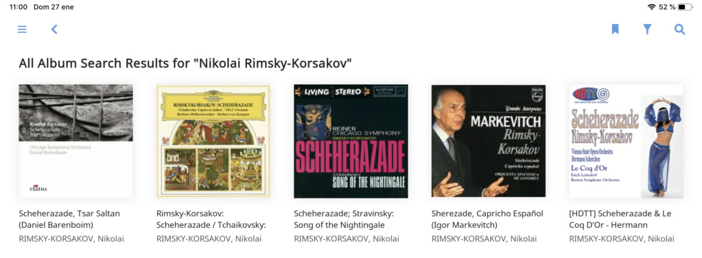 Que versión de Scheherazade de Rimsky korsakov os gustan más? 1d03df10