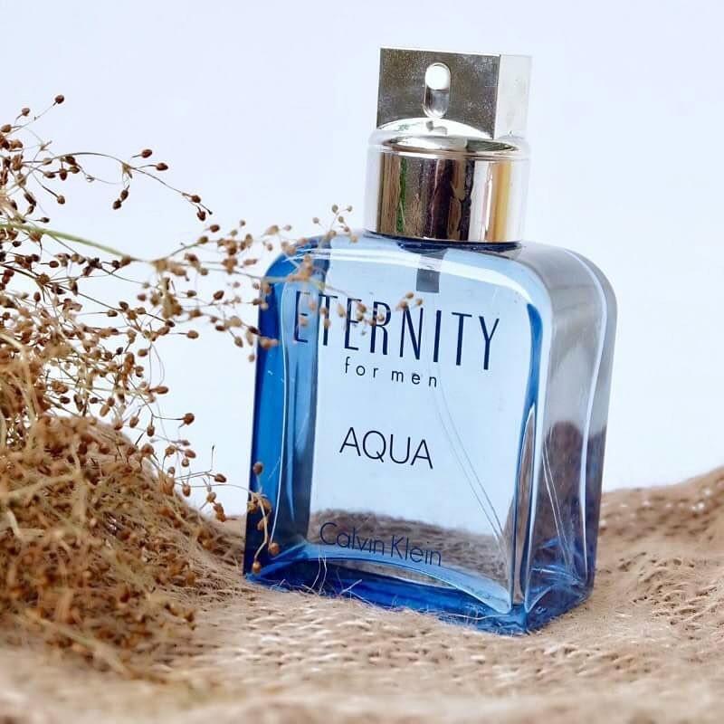 Eternity For Men Aqua Eau de Toilette di Calvin Klein Eterni10
