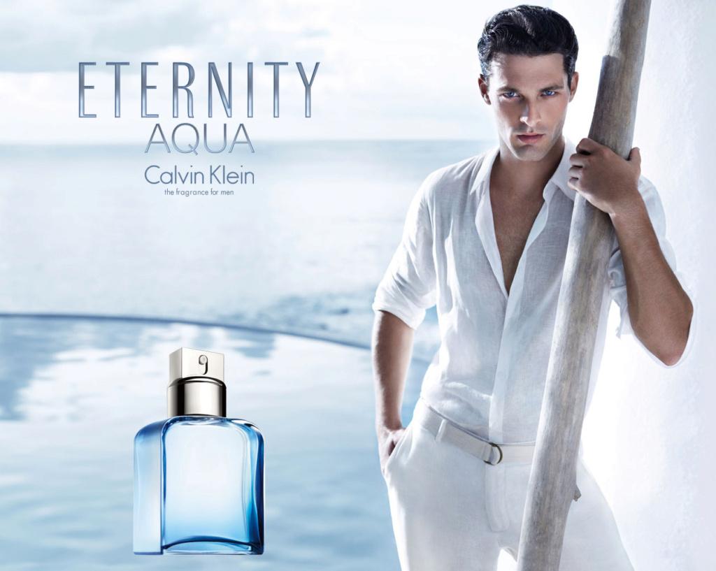 Eternity For Men Aqua Eau de Toilette di Calvin Klein Eterni12