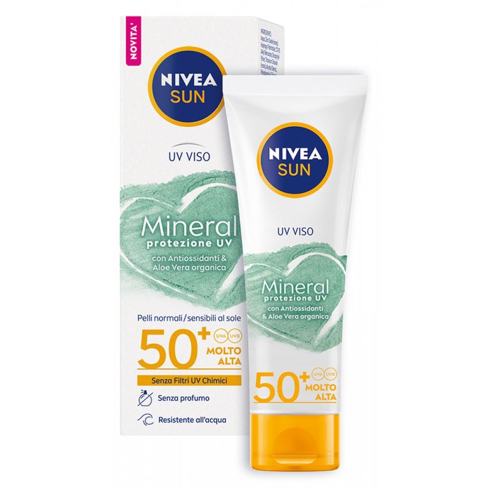Nivea Sun Crema UV - solare viso filtri minerali Nivea-11
