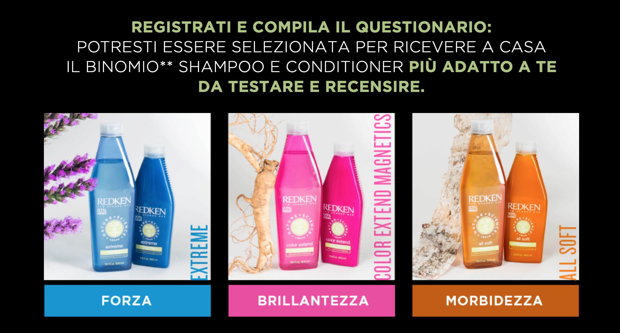 Testa Shampoo e balsamo Redken Natural+Science Scherm10