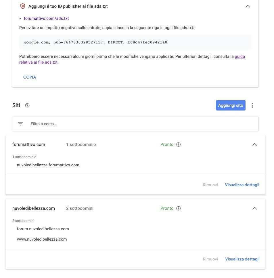File ads.txt - errore su google adsense e click non conteggiati Voila_11