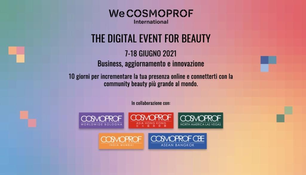 WeCosmoprof 2021 - Gli Eventi Speciali Wecosm10