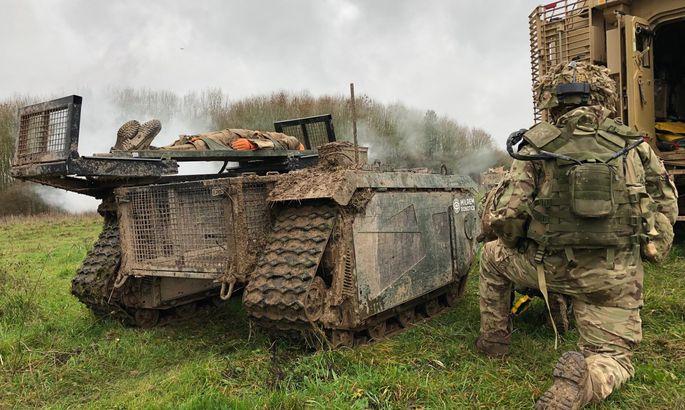 Un projet européen de robot militaire terrestre  11661610