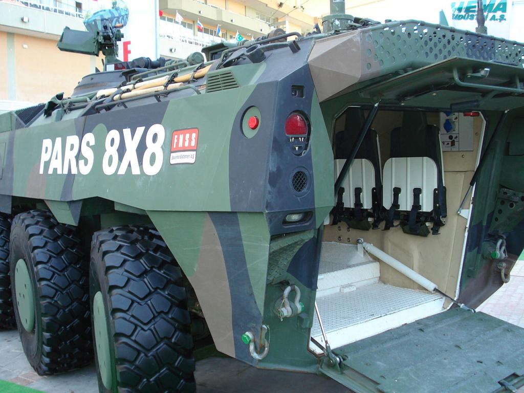 Des PARS IZCI pour l'armée et la gendarmerie turques 1280px35