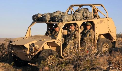 L'ISV nouveau véhicule du groupe d'infanterie US  13921510