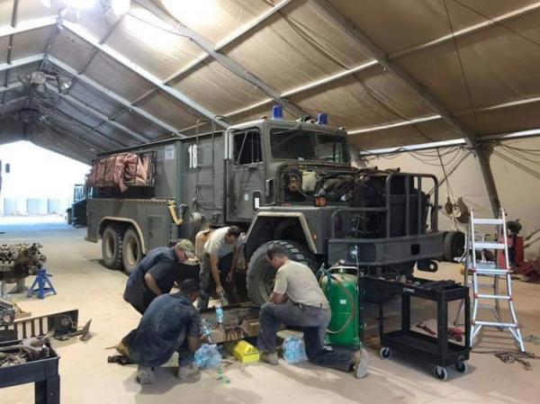 Le Génie US agrandit toujours la base aérienne 201 d'Agadez 14349610
