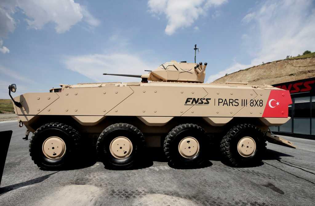 Des PARS IZCI pour l'armée et la gendarmerie turques 1ea9ca10