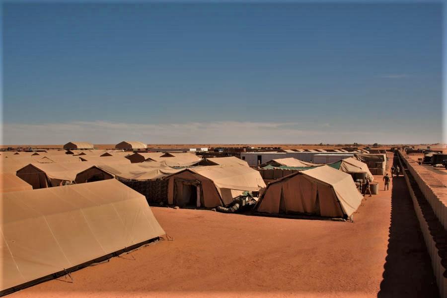 Mise en sommeil de la base militaire de Madama au Niger 2015_t12