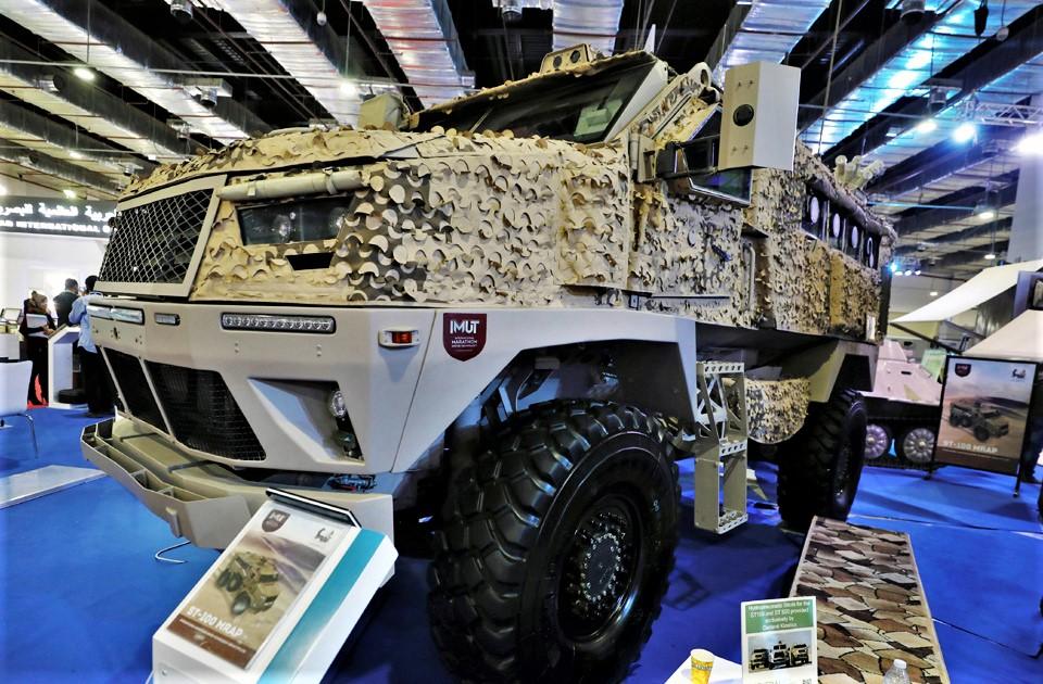 Le MRAP égyptien ST-100 pour les Emirats Arabes Unis ? 2018-610