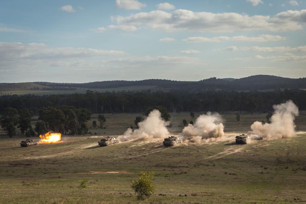 L'exercice annuel Chong Ju des armées australiennes 20180516