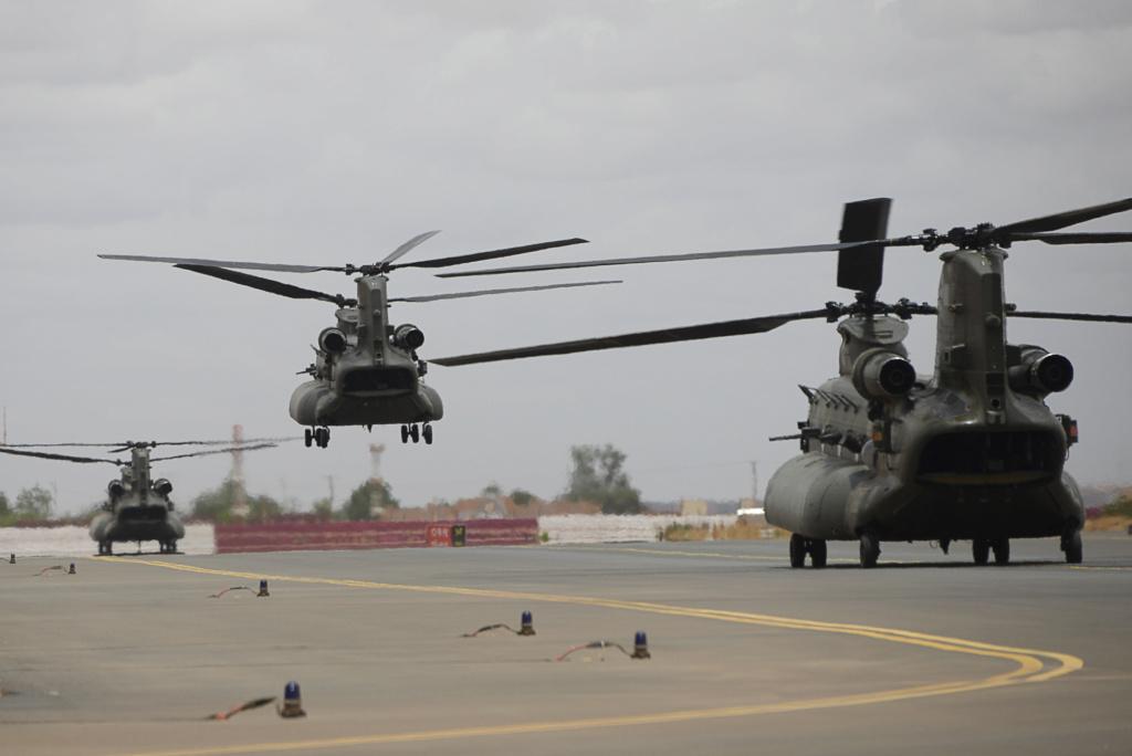 Des hélicos britanniques pour l'opération Barkhane au Sahel 20180714
