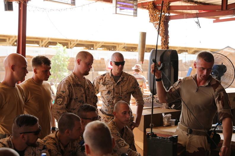 50 soldats estoniens auprès de la France au Mali 20180813