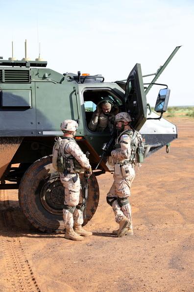 50 soldats estoniens auprès de la France au Mali 20180814