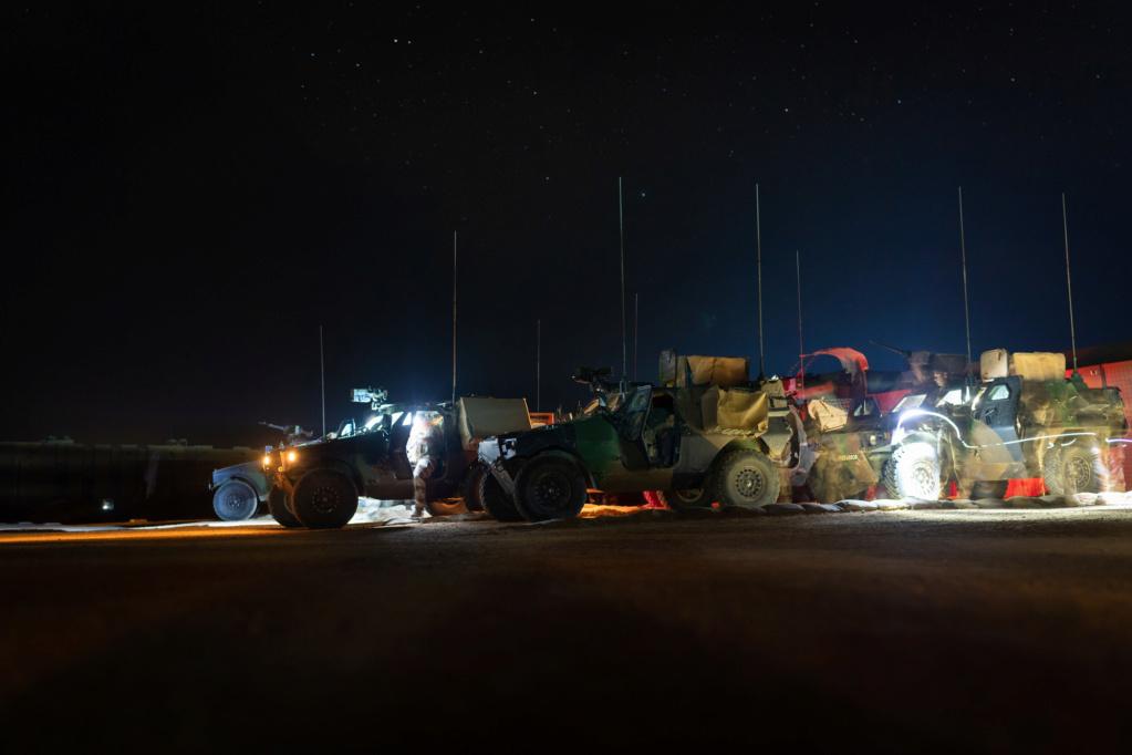 Le GT blindé en patrouille à Kidal  2018_t38