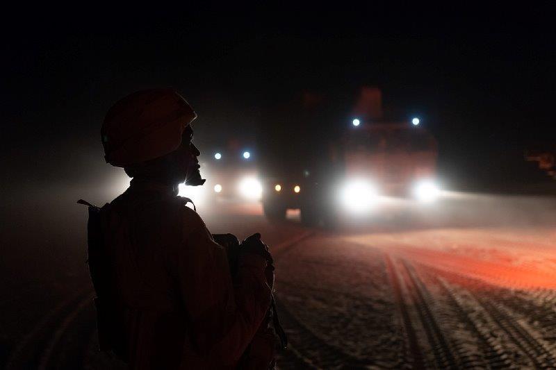 Opération Charente, , un convoi dans le désert 2018_t54