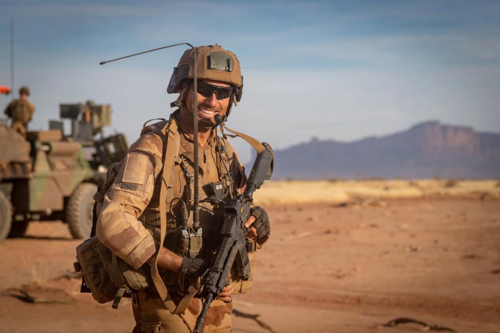 Le HK416 continue de se déployer au Sahel 2018_t71