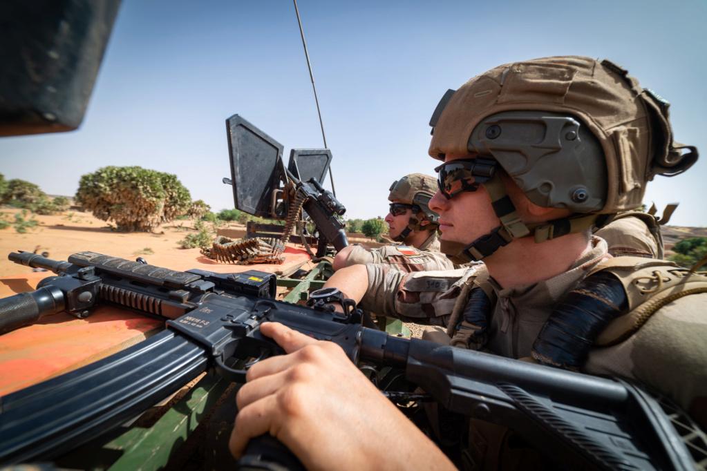 Le HK416 continue de se déployer au Sahel 2018_t72