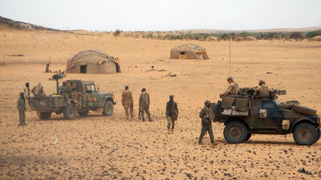 Opération dans le Liptako, une Gazelle hors service 20190419