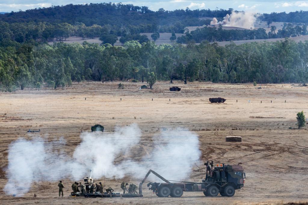 L'exercice annuel Chong Ju des armées australiennes 20190510