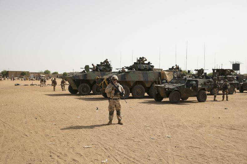 Le contingent estonien participe à une opération à Gao 20190813