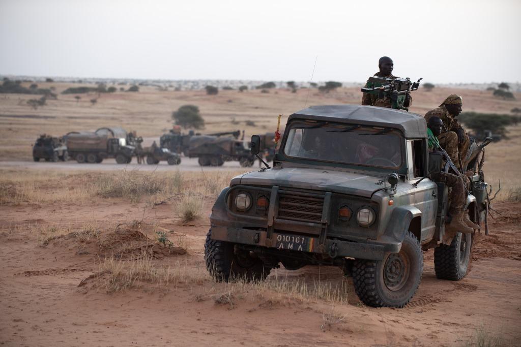 Opérations communes Barkhane - FAMa dans le Liptako 2019_105