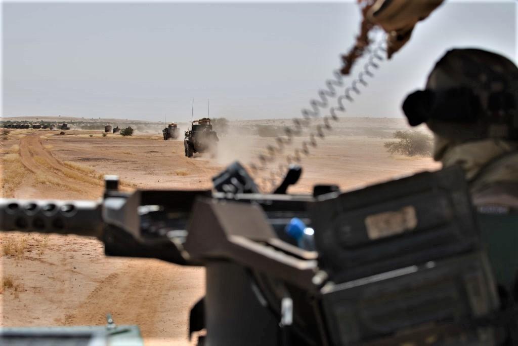 Opérations communes Barkhane - FAMa dans le Liptako 2019_e95