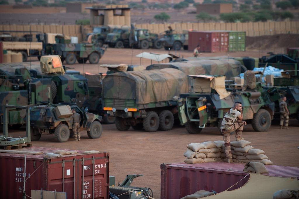 Opérations communes Barkhane - FAMa dans le Liptako 2019_e96