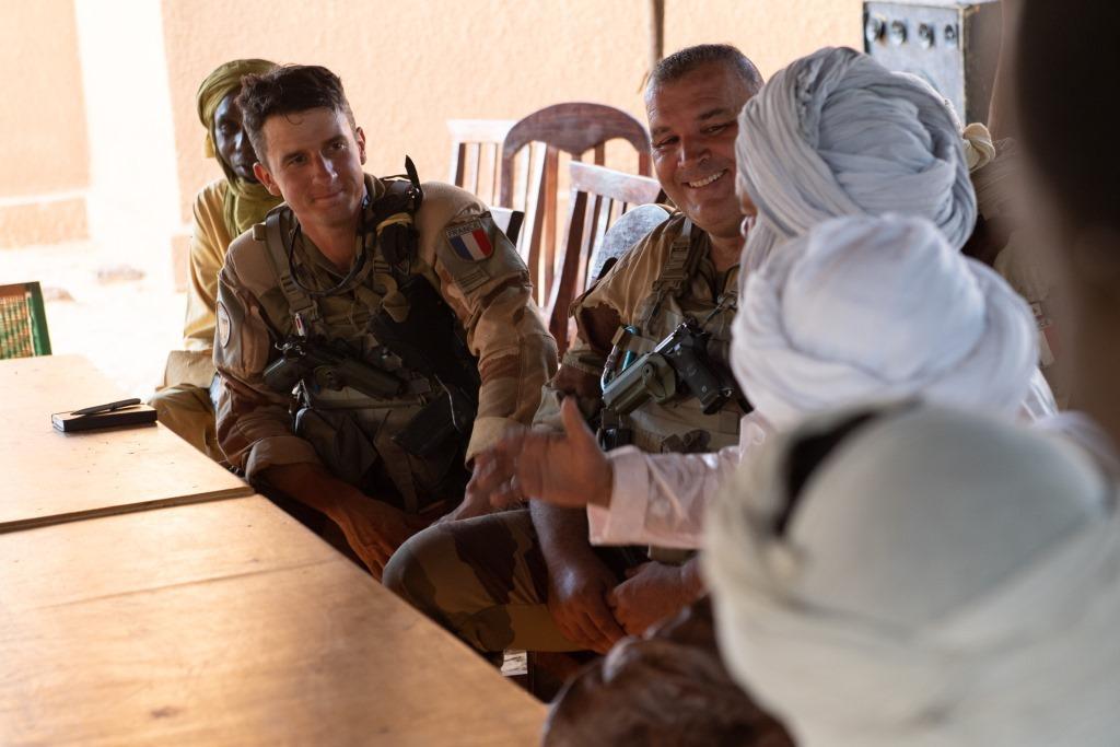 Opérations communes Barkhane - FAMa dans le Liptako 2019_e99