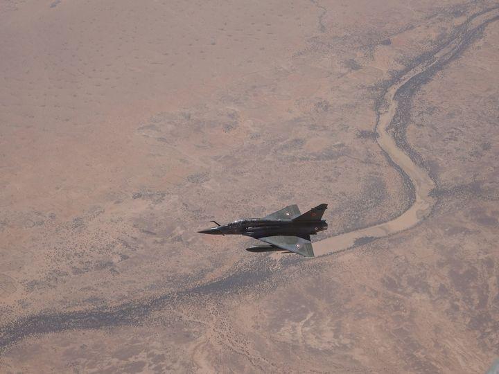 Ejection de l'équipage d'un Mirage 2000D au Mali 21761610