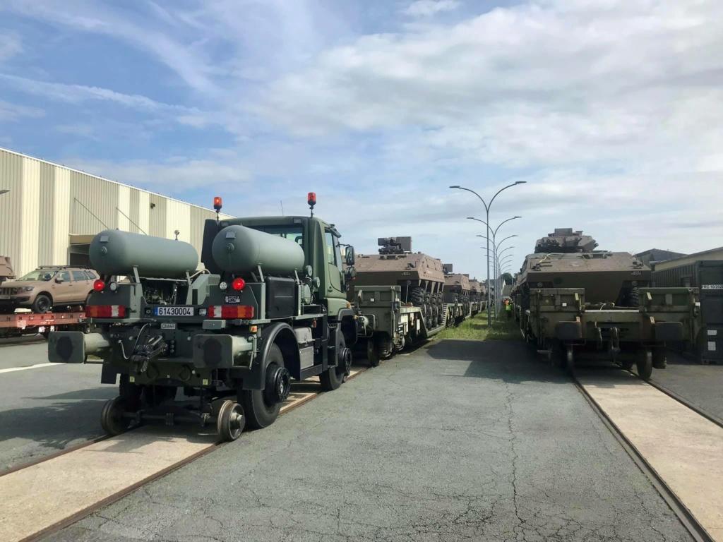 Trains spéciaux militaires pour le 14 juillet 2021 22023410