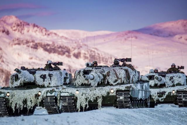 Vers un remplaçant pour les Leopard norvégiens 28827310
