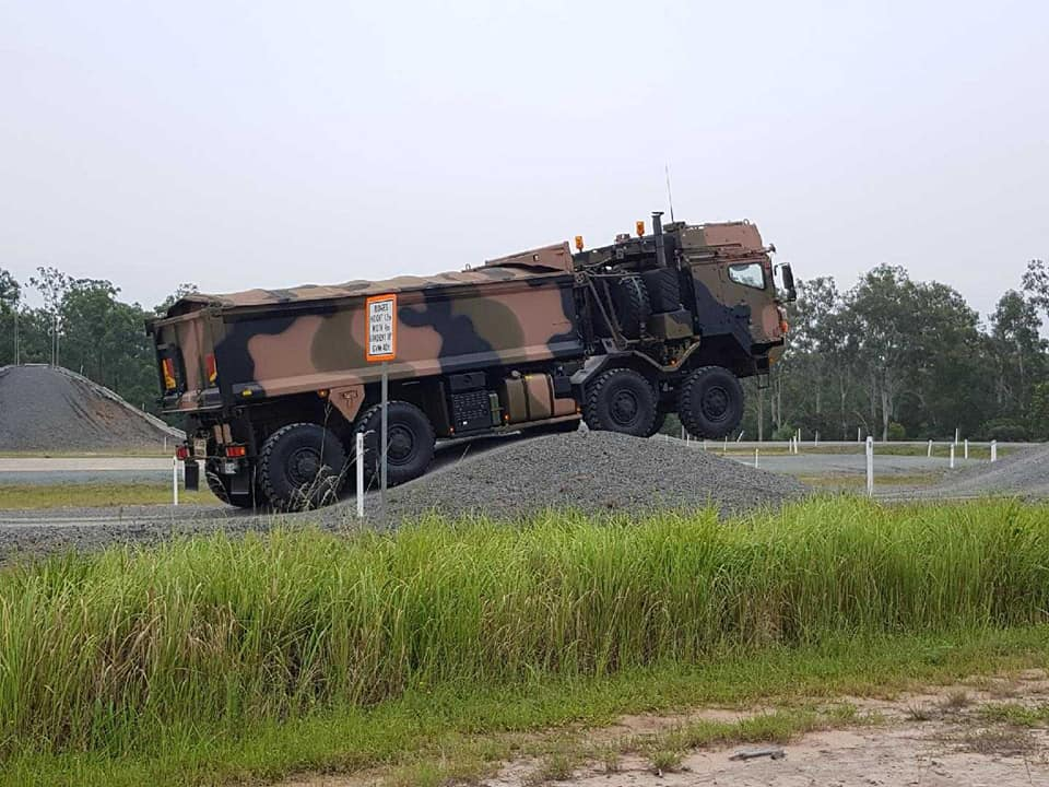 Des camions Rheinmetall - MAN pour l'armée australienne 29542910