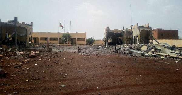 Le QG de la force du G5 Sahel attaquée à Sévaré 2wd7dj10