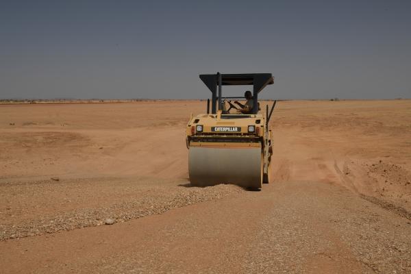 Le Génie US agrandit toujours la base aérienne 201 d'Agadez 31319110
