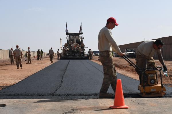 Le Génie US agrandit toujours la base aérienne 201 d'Agadez 32283710