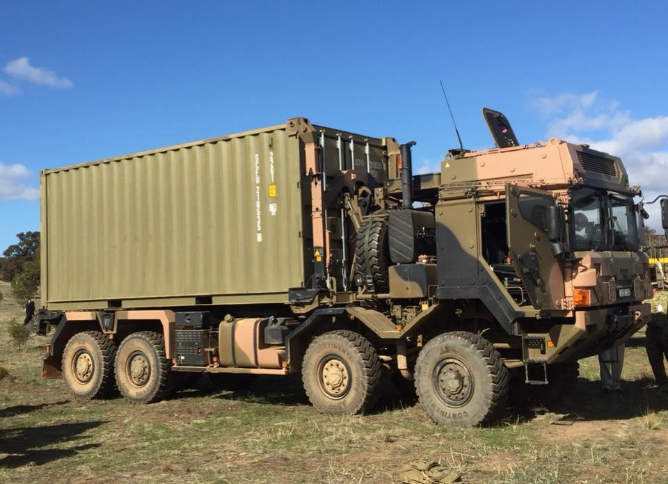 Des camions Rheinmetall - MAN pour l'armée australienne 32768010