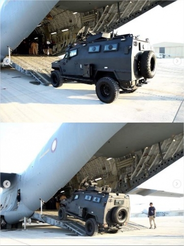 """Le Qatar offre 24 blindés de type """"Storm"""" à l'armée malienne 34989410"""