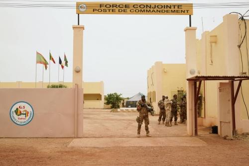 Le QG de la force du G5 Sahel attaquée à Sévaré 35579410