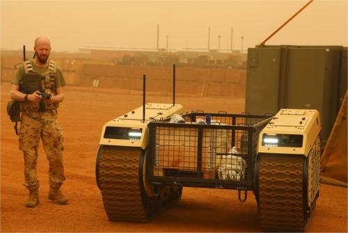 Un projet européen de robot militaire terrestre  37782910