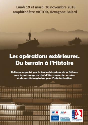 Colloque, OPEX : du terrain à l'histoire, Balard 19-20 nov  38926010