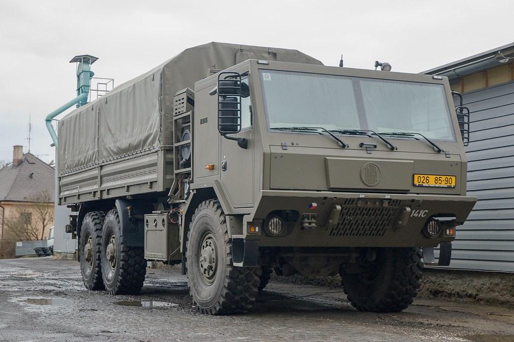 Des Tatra pour l'armée... tchèque 38980710