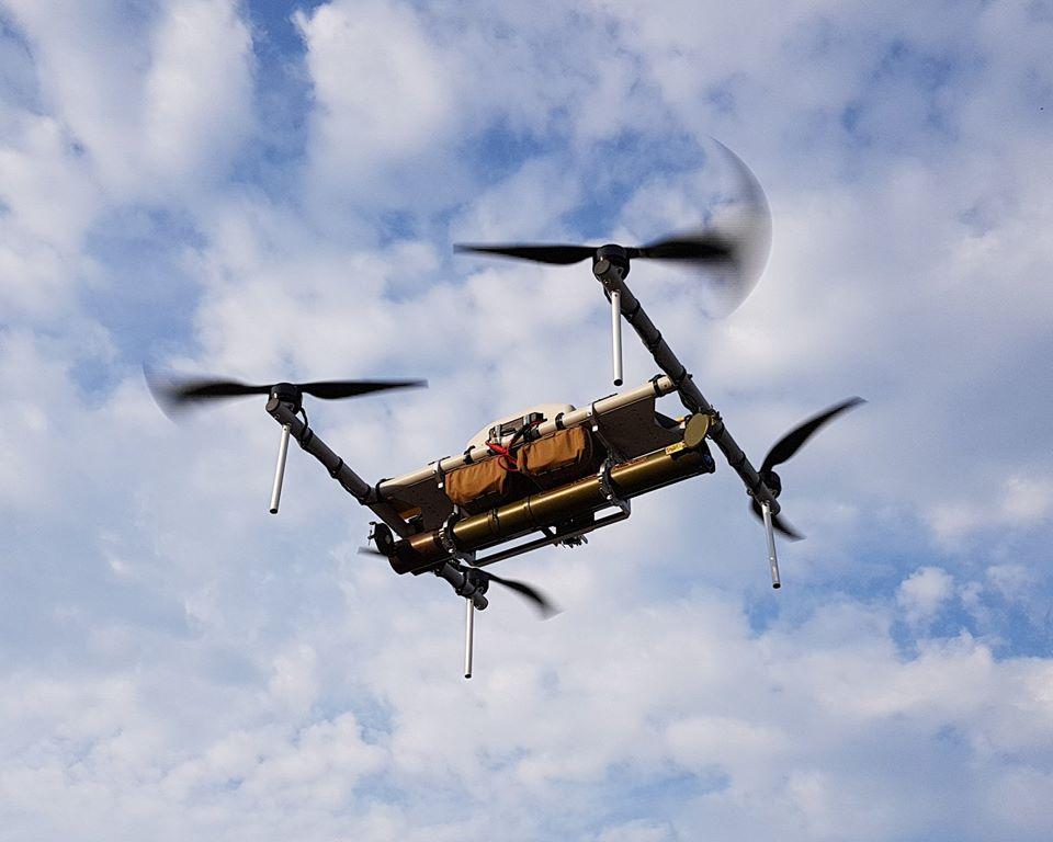 Un drone... lance roquette ukrainien ! !  39296810