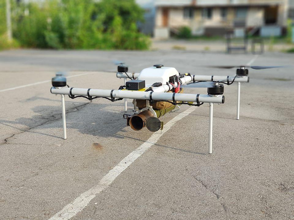 Un drone... lance roquette ukrainien ! !  39441310