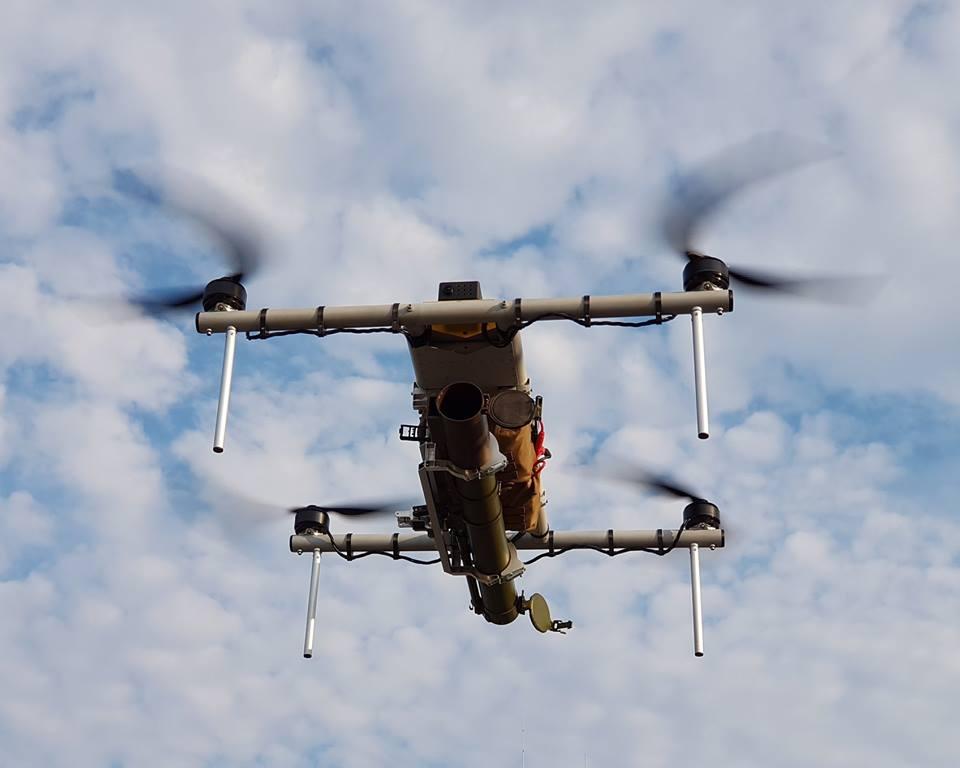 Un drone... lance roquette ukrainien ! !  39441610