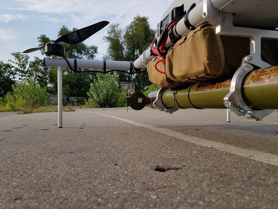 Un drone... lance roquette ukrainien ! !  39467810