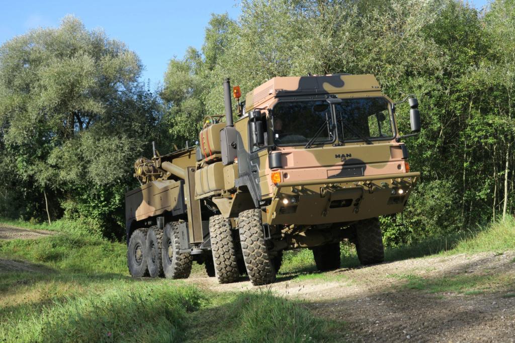 Des camions Rheinmetall - MAN pour l'armée australienne 45m_2810