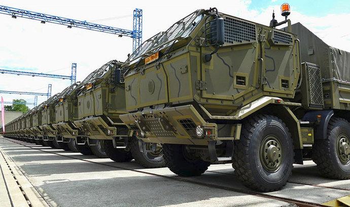 Des Tatra pour l'armée... tchèque 49824610