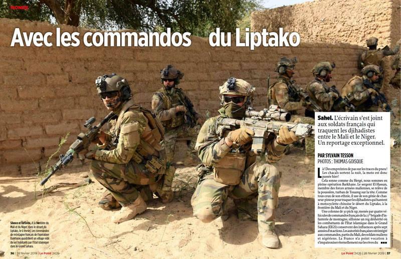 Avec les Groupe Commando Montagne du Liptako 52732910