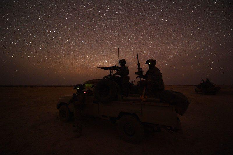 Avec les Groupe Commando Montagne du Liptako 52762310